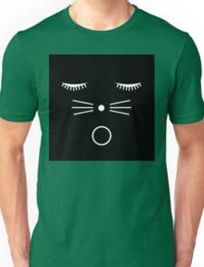 O Cat Black Unisex T-Shirt