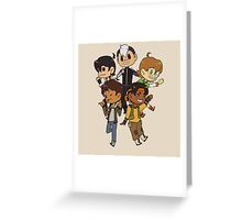 Team Voltron Greeting Card