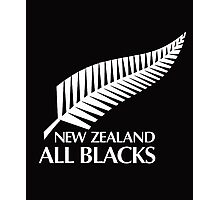 New Zealand All Blacks  Photographic Print