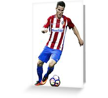 Kevin Gameiro - Atletico Madrid Greeting Card