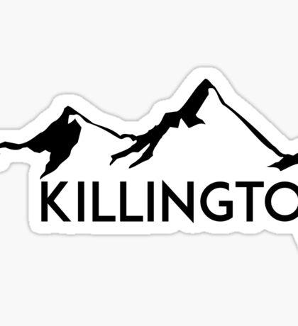 KILLINGTON VERMONT Mountain Skiing Snowboard Biking Hiking Ski Camping Sticker
