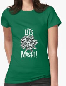Medusa, Let's Mash! Womens Fitted T-Shirt