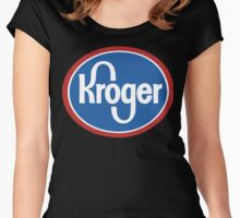 kroger Women's Fitted Scoop T-Shirt