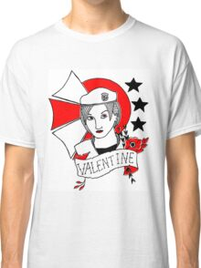 Valentine Girl - Red and Black Classic T-Shirt