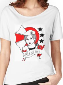 Valentine Girl - Red and Black Women's Relaxed Fit T-Shirt