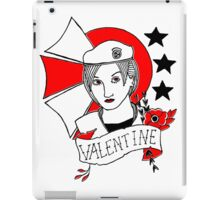 Valentine Girl - Red and Black iPad Case/Skin