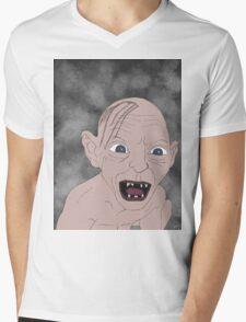 Gollum Mens V-Neck T-Shirt