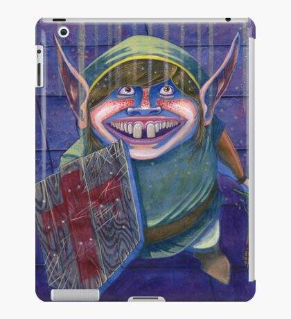 Zelda Link in a Dungeon Nintendo iPad Case/Skin