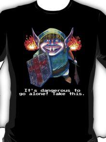 Zelda Link in a Dungeon Nintendo T-Shirt