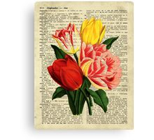 Flowers on Rise Canvas Print