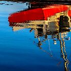 Reflection of a Fishing Boat by kenmo