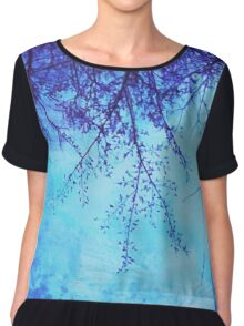 Sky Tree Chiffon Top