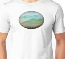 Watercolor Hills Unisex T-Shirt