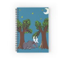 moose in the woods Spiral Notebook