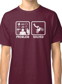Funny Dirt Bike Stunt Shirt Classic T-Shirt