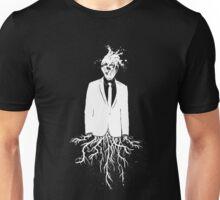 WHT on BLK: Insert Pretentious Title Unisex T-Shirt