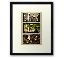 221b series Framed Print