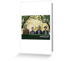weezer kind of the world dolly Greeting Card
