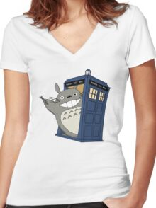Spirit of the Universe Women's Fitted V-Neck T-Shirt