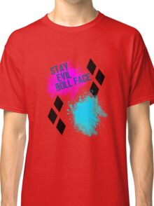 Stay Evil Doll Face Classic T-Shirt