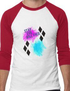 Stay Evil Doll Face Men's Baseball ¾ T-Shirt