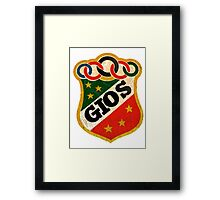 Gios vintage Racing Bicycles Italy Framed Print
