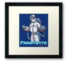 Frostbyte Framed Print
