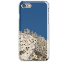 Mount Juneau Snow and Blue iPhone Case/Skin