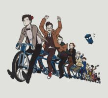 11 Doctors on a bike by reapersun