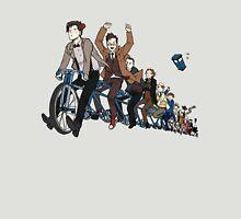 11 Doctors on a bike Unisex T-Shirt