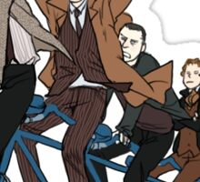 11 Doctors on a bike Sticker