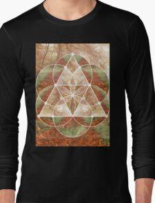 Woodland Abstract Long Sleeve T-Shirt