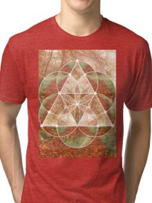 Woodland Abstract Tri-blend T-Shirt