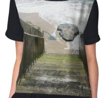 Steps to the Ocean Chiffon Top