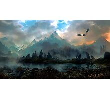 Dragon Mountain Photographic Print