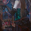 """""""Time Catcher""""(original is in private collection) by Tatyana Binovskaya"""