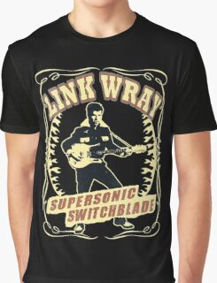 Link Wray (Supersonic Switchblade) Vintage Graphic T-Shirt