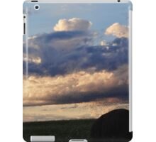 Swarming over the hay bales iPad Case/Skin