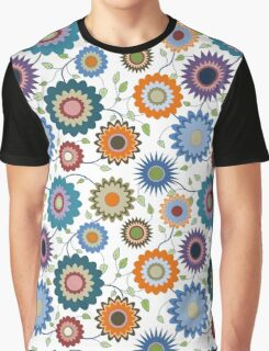 April Flowers with Branches Graphic T-Shirt