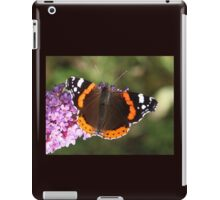 Red Admiral butterfly 11 iPad Case/Skin