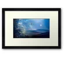 Mystery at Eventide Framed Print