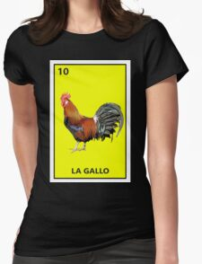 El gallo Womens Fitted T-Shirt