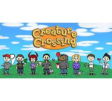 Creature Crossing Photographic Print