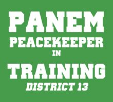 Panem Peacekeeper in Training Kids Clothes