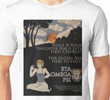 First Sorority Werewolf Change Unisex T-Shirt
