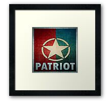 Logo - Patriot Framed Print