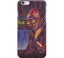 Retro Metroid Samus Arana Nintendo iPhone Case/Skin