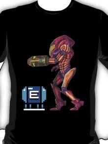 Retro Metroid Samus Arana Nintendo T-Shirt