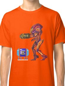 Retro Metroid Samus Arana Nintendo Classic T-Shirt