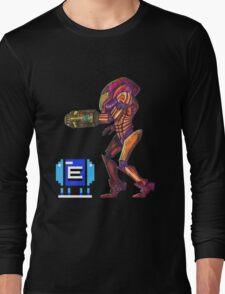 Retro Metroid Samus Arana Nintendo Long Sleeve T-Shirt